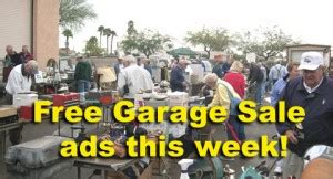 post your free garage sales ads this week sumner newscow