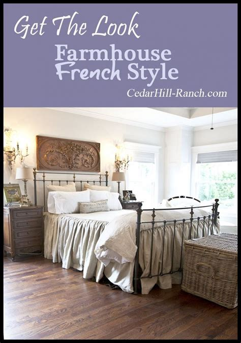 farmhouse style bedding get the farmhouse french look