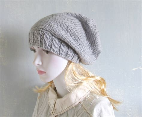 slouchy knit beanie knit slouchy beanie hat slouch beanie by