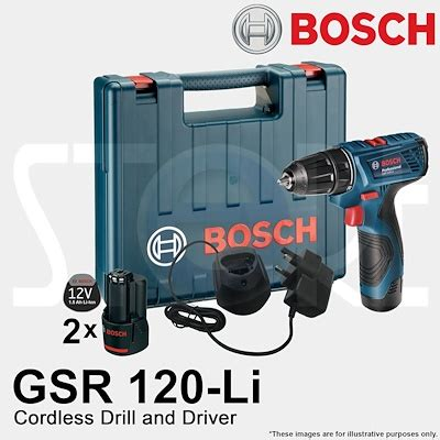 Cordless Bosch Gsr 120 Licordless Impact Drill Driver qoo10 bosch gsr 120 li 12v cordless power drill driver free shipping by qx tools