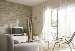 mur de salon en plaquettes de parement mur de parement