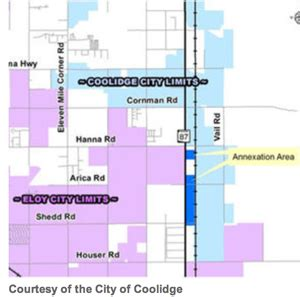 pinal county section 8 coolidge grows with annexation pinal partnership