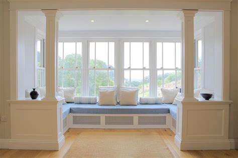 bay window bench seating stylish and futuristic bay window with window seat design