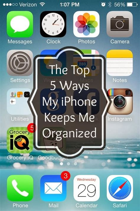 best free organization apps iphone the top and salts on pinterest