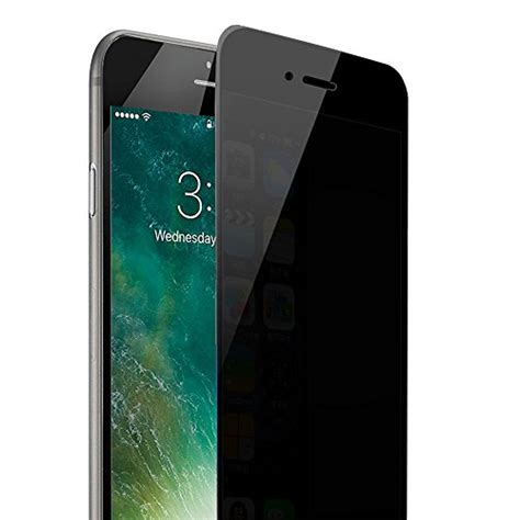 Iphone 7 Anti Privacy Tempered Glass Screen Guard Protector Kuat iphone 7 plus privacy screen protector ankoon anti tempered glass screen protector premium
