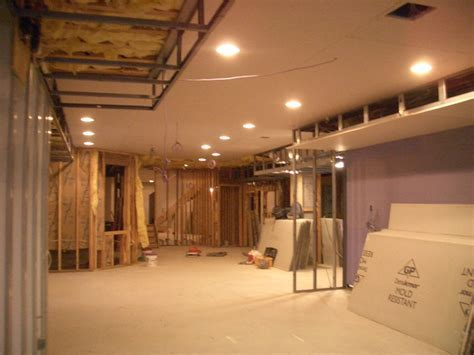 Attractive Design Ideas Finishing A Basement Ceiling