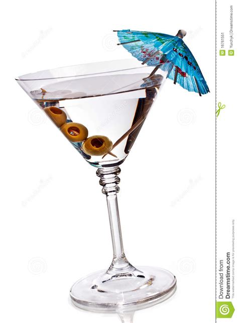 martini glass with umbrella martini glass with olives and umbrella stock image image