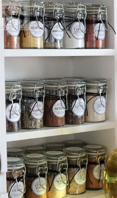 diy pantry spice rack 10 diy spice storage ideas gleamitup pantry
