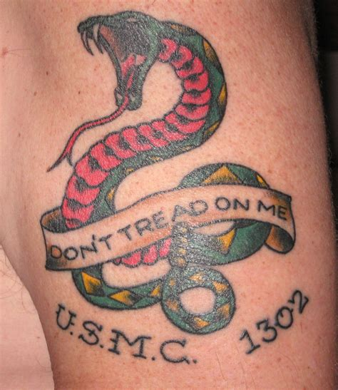 tattoo by me don t tread on me tattoos designs ideas and meaning