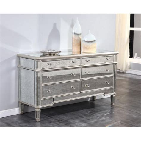 Home Accent Decor by Florentine Mirrored Dresser
