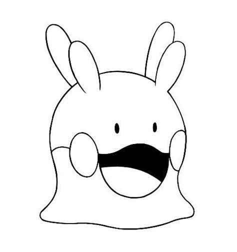 pokemon coloring pages ditto 44 best images about pokemon x and y kleurplaten on
