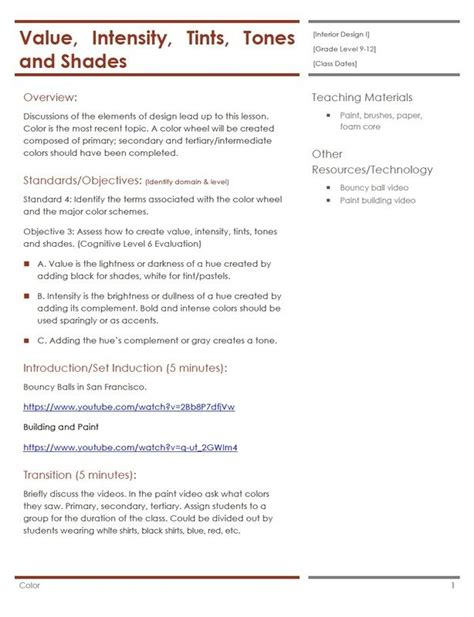 interior design lesson plans 317 best images about facs housing interior design on