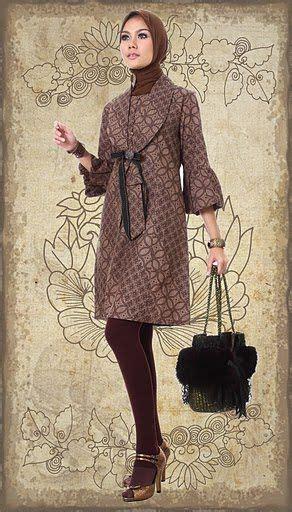 Mirna Batik model baju batik berjilbab penelusuran