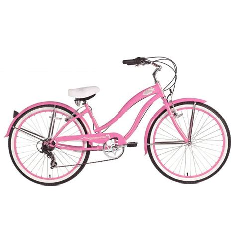 Hub Gear Shimano 7sp micargi rover 7 speed cruiser bike pink 26 inch