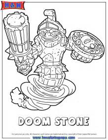 skylander coloring pages skylanders doom coloring page h m