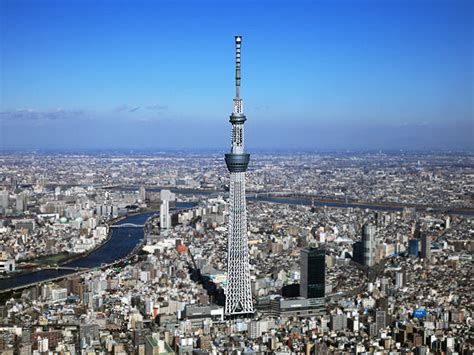 Tokyo Skytree Observation Deck by Tokyo Skytree Tower Opens To Public In Japan Verdict