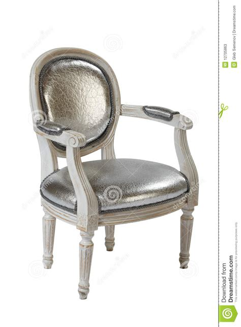 upholstery shooers white armchair stock photos image 12705863