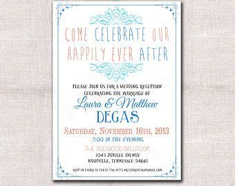 25 best ideas about reception only invitations on reception invitations wedding