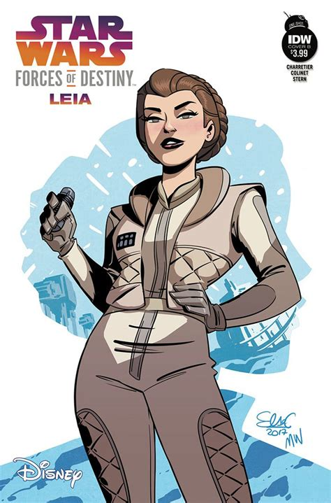 wars forces of destiny the leia chronicles books idw publishing comics for january 3rd 2018 the gaming