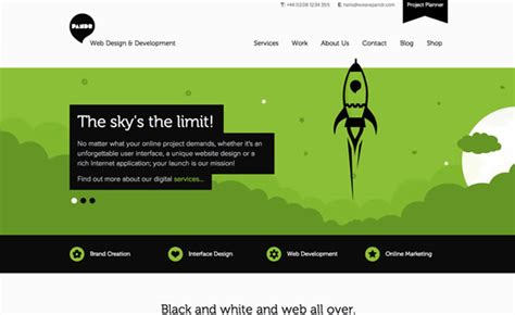 best pattern web design 25 exles of emphasis applied in web design