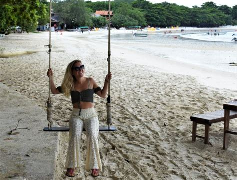 taylor swing taylor takes on thailand part 5 koh samet yoga and