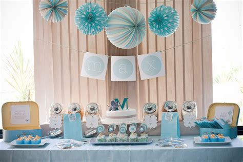 Baby Boy Elephant Themed Baby Shower by Elephant Baby Shower Popsugar