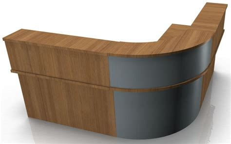 Kompass Corner Reception Desk With Panel Legs Online Reality Corner Reception Desk
