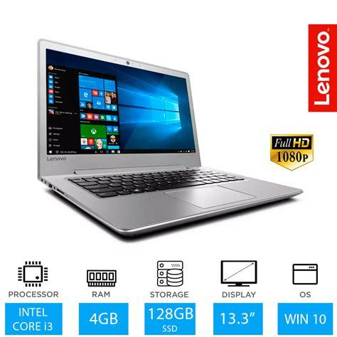 lenovo ideapad 510s 13 3 quot hd 7th intel i3 laptop 4gb ram 128gb ssd ebay