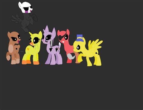 painting fnaf my pony fnaf by ktmb1 on deviantart