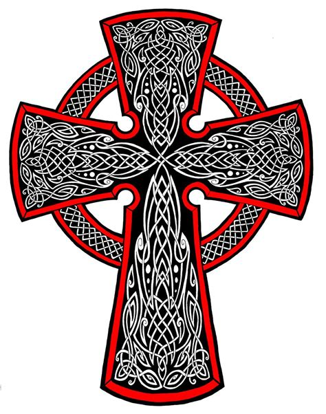celtic cross tattoo by annikki on deviantart