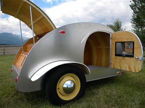 retro teardrop cer vintage teardrop trailer cars and wheels pinterest