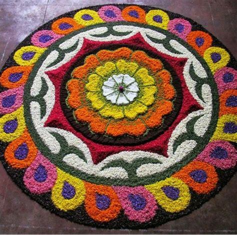 rangoli pattern using shapes rangoli designs for onam