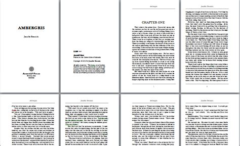 template for writing a book template design