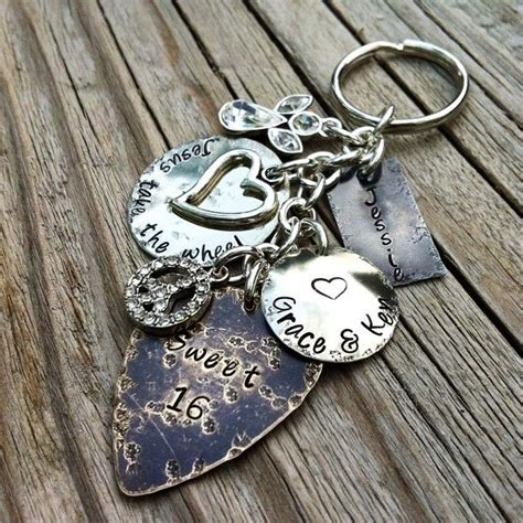 keyring photo personalized gifts photo gifts ideas wedding gifts ideas baby gifts handmade hand sted sweet 16 personalized keychain