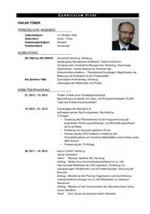 Curriculum Vitae Sample Format by Cv Profil Hakantuemer Deutsch