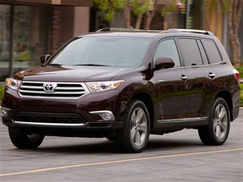 2012 toyota highlander | pricing, ratings & reviews