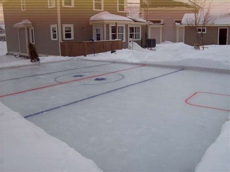my backyard hockey rink outdoor furniture design and ideas