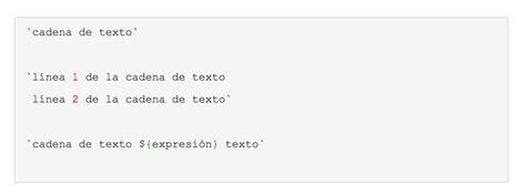 javascript cadenas de texto descubre los template literals de es6 javascript