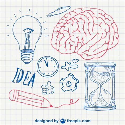 pen doodles vector design vector free download