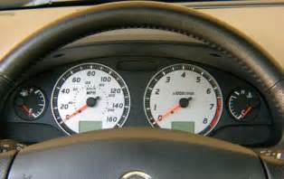 2003 Nissan Maxima Cluster