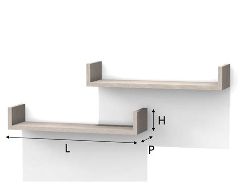 mensole su misura on line mensola in melaminico forma c
