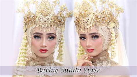 Wedding Sunda by Tutorial Makeup Wedding Sunda Siger Muslim 2018