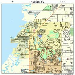 hudson fl map image search results