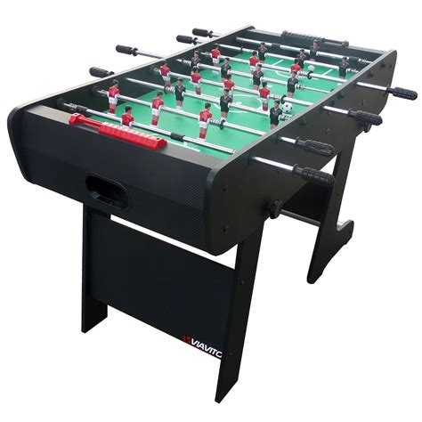 how to a table football viavito ft100x 4ft folding football table