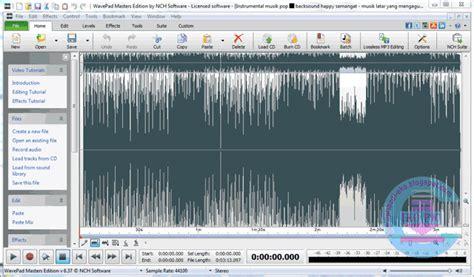 wavepad full version apk wavepad sound editor v6 37 full with crack terbaru