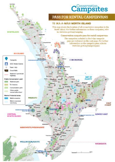 Les campings du DOC en Nouvelle Zélande, guide pratique