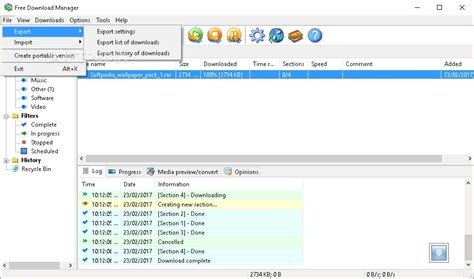 free software portable free manager