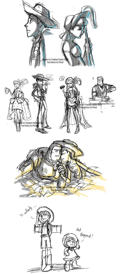 doodlebug and peep story livestream sketches4 by youkaiyume on deviantart