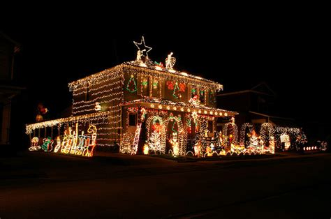 commercial and residential christmas light installation in