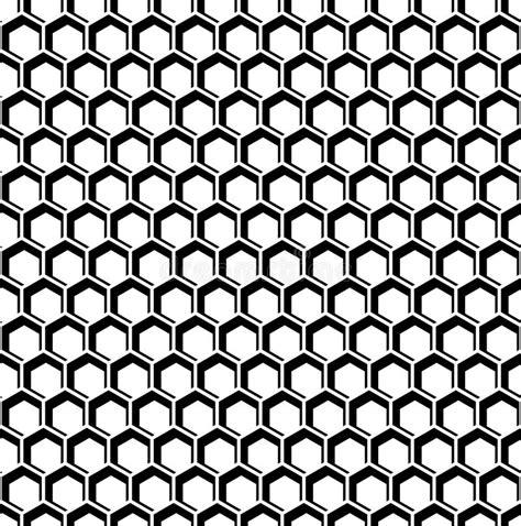 seamless hexagon pattern vector seamless hexagons texture honeycomb pattern stock vector